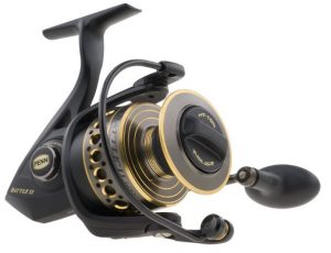 10 Penn Battle II Spinning Fishing Reel